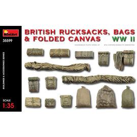 MiniArt MiniArt - Britische Rucksäcke, Taschen und gefaltetes Leinen - WWII - 1:35