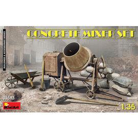 MiniArt MiniArt -  Betonmischer Set - 1:35
