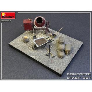 MiniArt Betonmischer Set - 1:35
