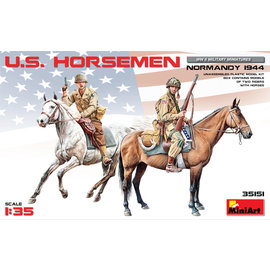 MiniArt MiniArt - U.S. Horseman Normandy 1944 - 1:35
