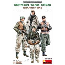 MiniArt MiniArt - Deutsche Panzerbesatzung Charkow 1943 - 1:35
