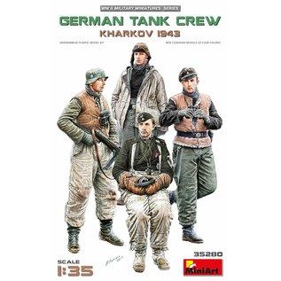 MiniArt Deutsche Panzerbesatzung Charkow 1943 - 1:35