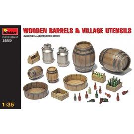 MiniArt MiniArt - Holzfässer und Hausgerät - 1:35