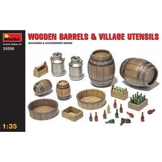 MiniArt Holzfässer und Hausgerät - 1:35