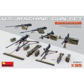 MiniArt MiniArt - U.S. Maschinengewehr Set - 1:35