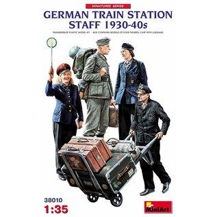 MiniArt Deutsches Bahnhofspersonal - 1930-40iger - 1:35
