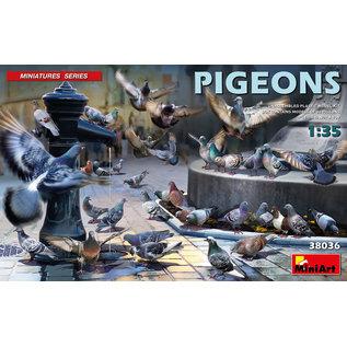 MiniArt Tauben / Pigeons - 1:35