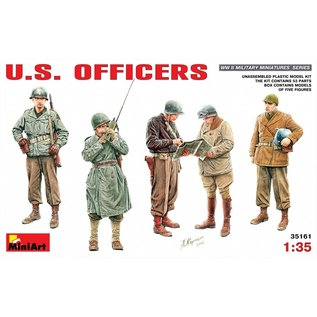 MiniArt U.S. Offiziere WWII - 1:35