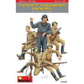 MiniArt MiniArt - Sowjetische aufgesessene Infanterie (Spezial Edition) - 1:35