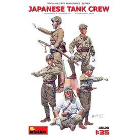 MiniArt MiniArt - Japanische Panzerbesatzung WWII - 1:35
