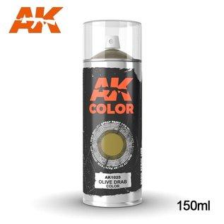 AK Interactive Spray Olive Drab Color
