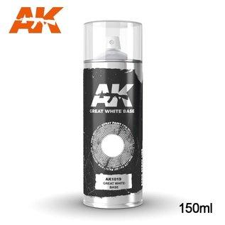 AK Interactive Spray Great White Base