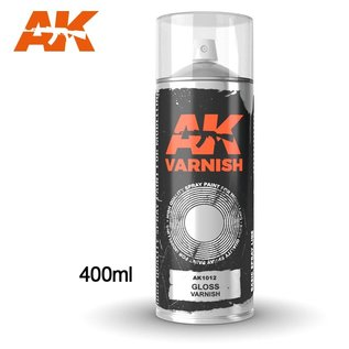 AK Interactive Spray Gloss varnish