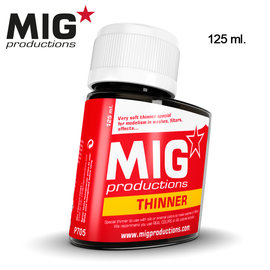 MIG MIG - Thinner for washes 125ml