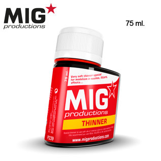 MIG Thinner for washes 75ml