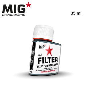MIG Filter Blue for dark grey