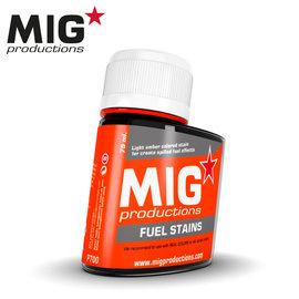 MIG MIG - Fuel stains