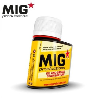 MIG Oil and grease stain mixture