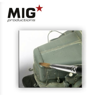 MIG Brown blue Wash for Panzer grey