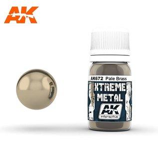 AK Interactive Xtreme Metal - Pale brass