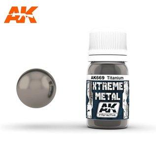 AK Interactive Xtreme Metal - Titanium