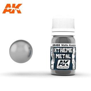 AK Interactive Xtreme Metal - Matte Aluminium