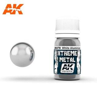 AK Interactive Xtreme Metal - White Aluminium