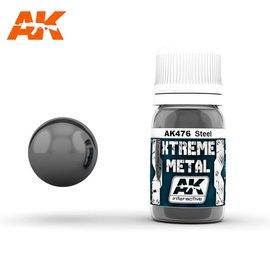 AK Interactive AK Interactive - Xtreme Metal - Steel