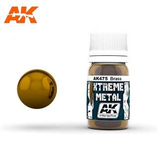 AK Interactive Xtreme Metal - Brass