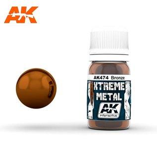 AK Interactive Xtreme Metal - Bronze