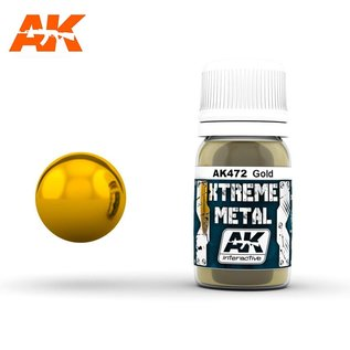AK Interactive Xtreme Metal - Gold