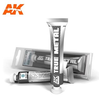 AK Interactive True Metal - Silver