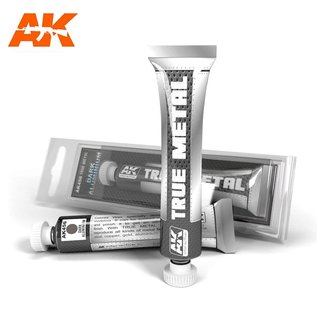 AK Interactive True Metal - Dark Aluminium