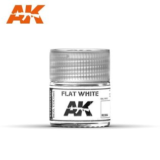 AK Interactive Real Colors - RC004 Flat White