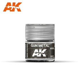 AK Interactive AK Interactive Real Colors - RC015 Gun Metal