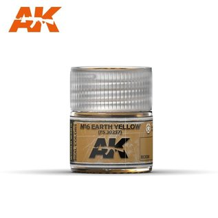 AK Interactive Real Colors - RC030 Nº6 Earth Yellow FS 30257