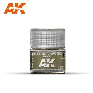 AK Interactive Real Colors - RC051 Marinegrau-Navy Grey RAL 7002