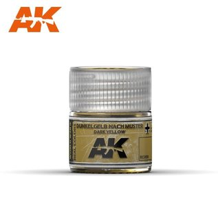 AK Interactive Real Colors - RC059 Dunkelgelb Nach Muster Dark Yellow