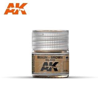 AK Interactive Real Colors - RC069 Braun-Brown RAL 8020