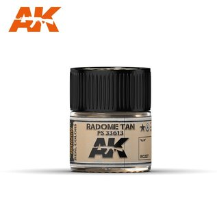 AK Interactive Real Colors Air - RC227 Radome Tan FS 33613