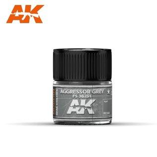 AK Interactive Real Colors Air - RC248 Aggressor Grey FS 36251