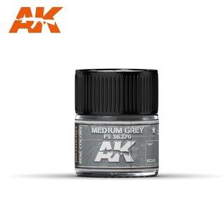 AK Interactive Real Colors Air - RC249 Medium Grey FS 36270