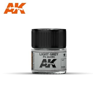 AK Interactive Real Colors Air - RC253 Light Grey FS 36495