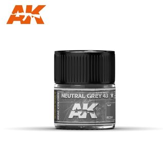 AK Interactive Real Colors Air - RC261 Neutral Grey 43