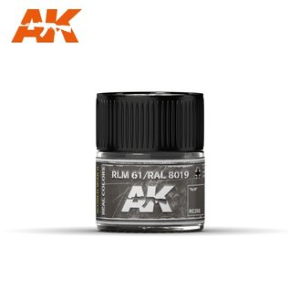 AK Interactive Real Colors Air - RC268 RLM 61 / RAL 8019