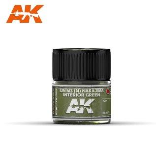 AK Interactive Real Colors Air - RC307 IJN M3 (N) NAKAJIMA Interior Green