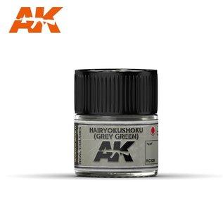AK Interactive Real Colors Air - RC328 Hairyokushoku (Grey-Green)