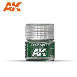 AK Interactive Real Colors Air - RC505 Clear Green