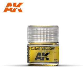 AK Interactive Real Colors Air - RC507 Clear Yellow