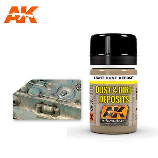 AK Interactive AK- 4062 LIGHT DUST DEPOSIT